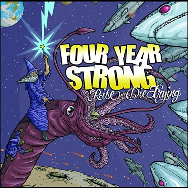 Four Year Strong RISE OR DIE TRYING Vinyl Record