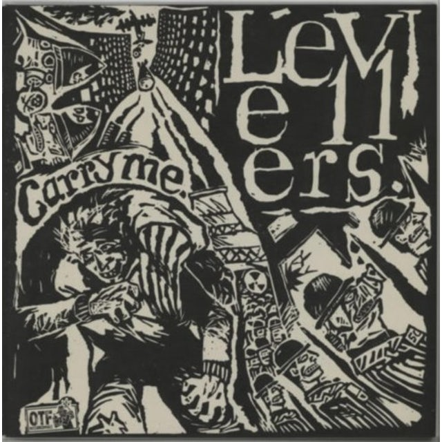 Levellers CARRY ME EP Vinyl Record