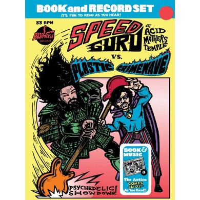 Speed Guru Vs Plasti PSYCHEDELIC SHOW Vinyl Record