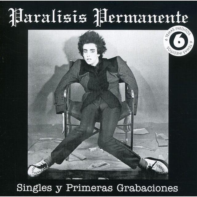 Paralisis Permanente SINGLES Y 1'S GRABACIONES CD