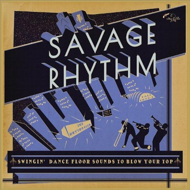Savage Rhythm: Swingin' Dance Floor Sounds / Var Vinyl Record