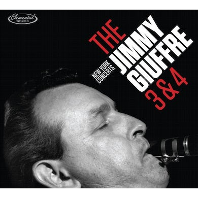 Jimmy Giuffre NEW YORK CONCERTS CD