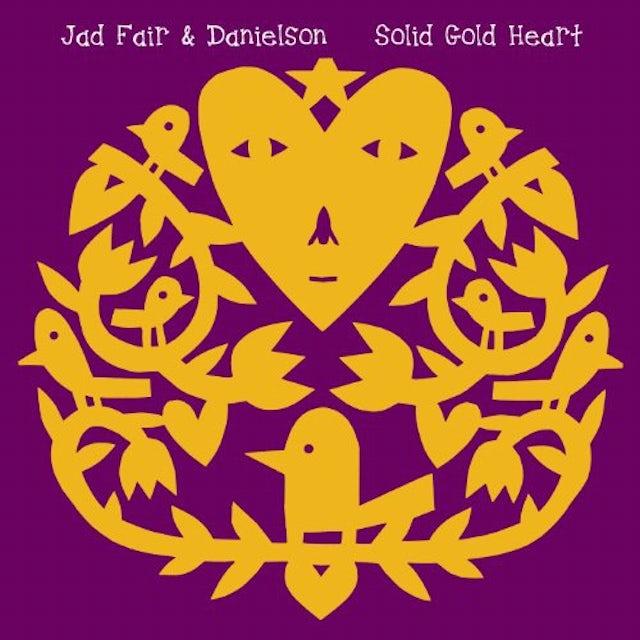 Jad Fair & Danielson SOLID GOLD HEART Vinyl Record