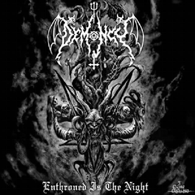 Demoncy ENTHRONED IS THE NIGHT Vinyl Record