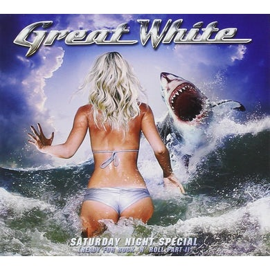 Great White STRIPPED CD