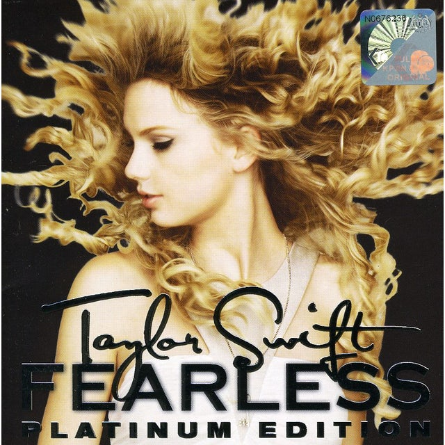 Taylor Swift FEARLESS: PLATINUM EDITION CD
