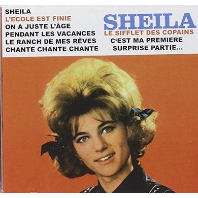 Sheila LE SIFFLET DES COPAINS CD