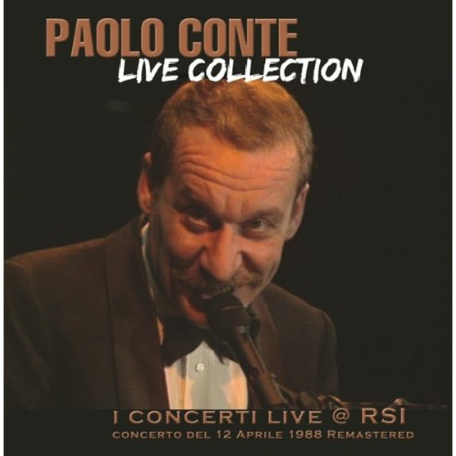 Paolo Conte LIVE COLLECTION I CONCERTI CD