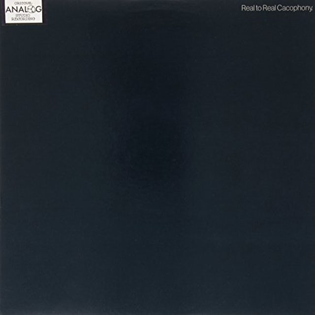 Simple Minds REAL TO REAL CACOPHONY Vinyl Record