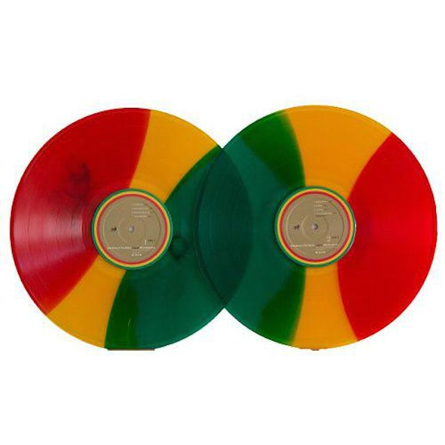 Bob Marley LEGEND: 30TH ANNIVERSARY EDITION - Limited Edition Tri-Color Double Vinyl Record