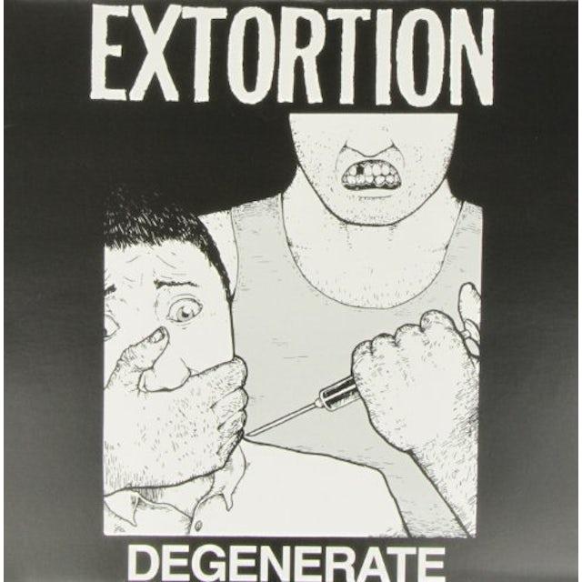 Extortion DEGENERATE Vinyl Record