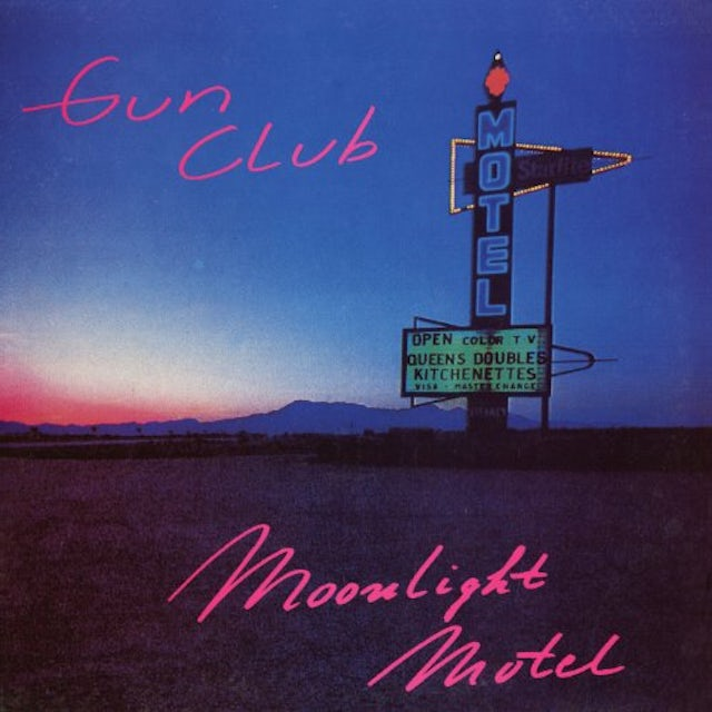 The Gun Club MOONLIGHT MOTEL Vinyl Record