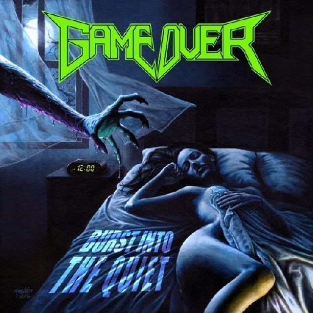 Game Over BURST INTO THE QUIET CD