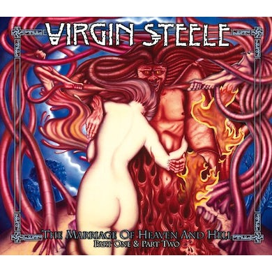 Virgin Steele MARRIAGE OF HEAVEN & HELL I+II CD