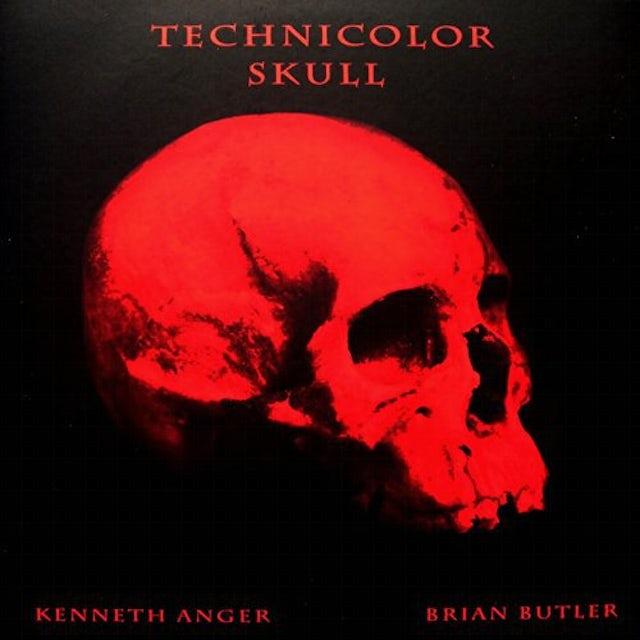 Technicolor Skull Vinyl Record