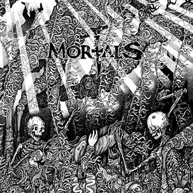 Mortals CURSED TO SEE THE FUTURE Vinyl Record