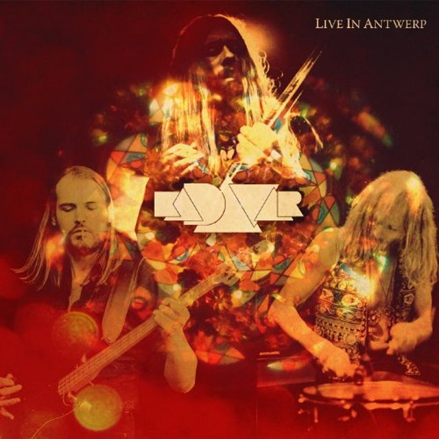Kadavar LIVE IN ANTWERP Vinyl Record