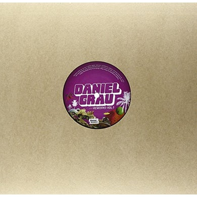 Daniel Grau REWORKS VOL. 1 BY DANIEL WANG & JULES ETIENNE Vinyl Record - UK Release
