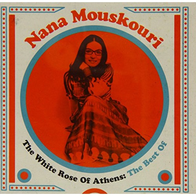 Nana Mouskouri WHITE ROSE OF ATHENS: THE BEST OF CD