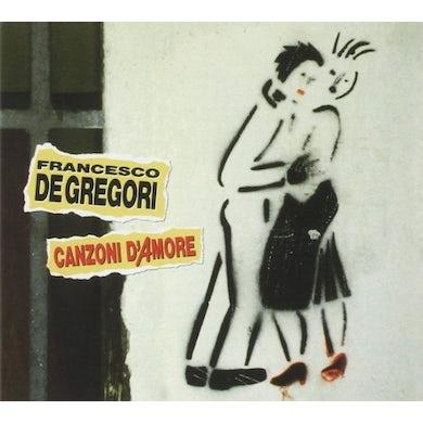 Francesco De Gregori CANZONI D'AMORE CD