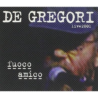 Francesco De Gregori FUOCO AMICO-LIVE 2001 CD