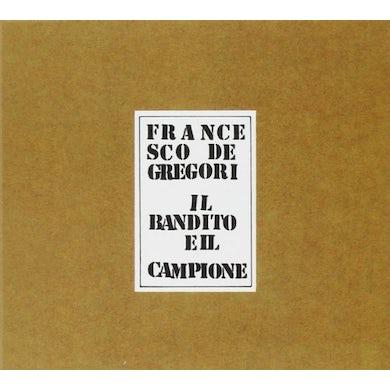Francesco De Gregori IL BANDITO E IL CAMPIONE CD