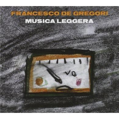 Francesco De Gregori MUSICA LEGGERA CD