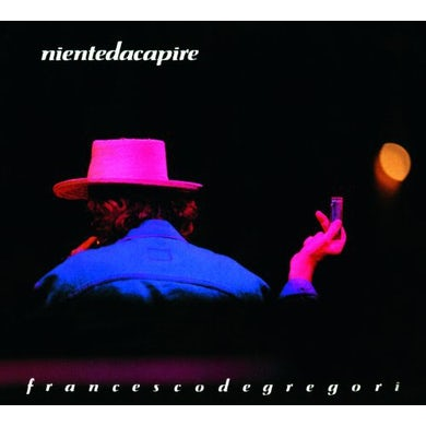 Francesco De Gregori NIENTE DA CAPIRE CD