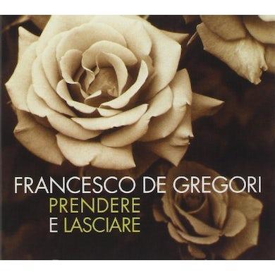 Francesco De Gregori PRENDERE E LASCIARE CD