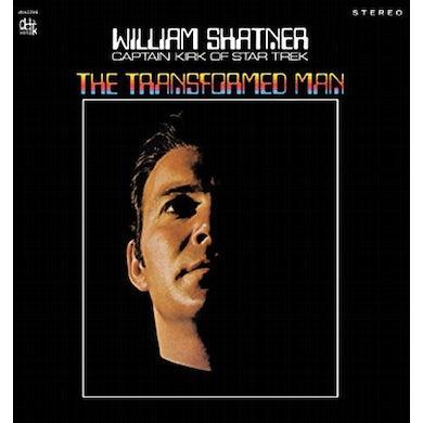 William Shatner TRANSFORMED MAN Vinyl Record