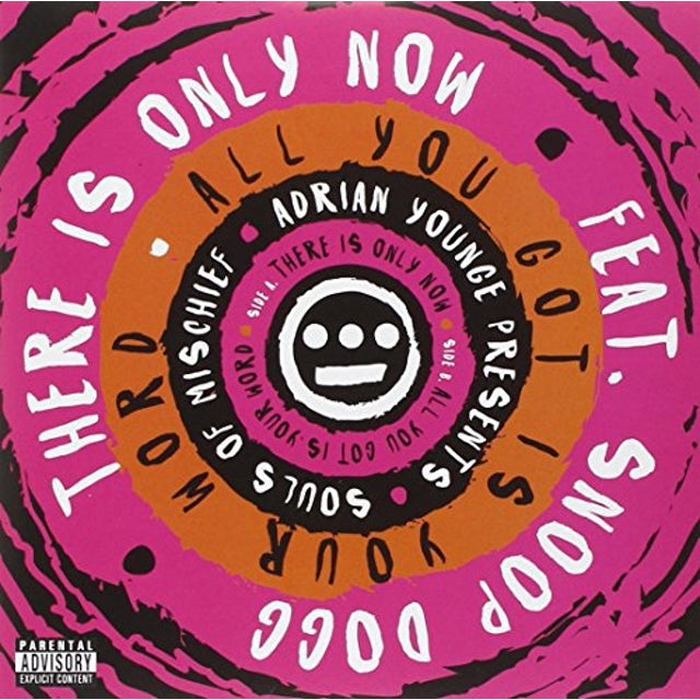 Souls Of Mischief THERE IS ONLY NOW / ALL YOU GOT IS YOUR WORD Vinyl Record