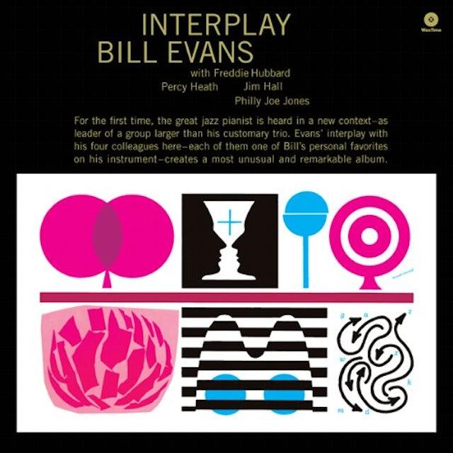 Bill Evans INTERPLAY Vinyl Record - Spain Release