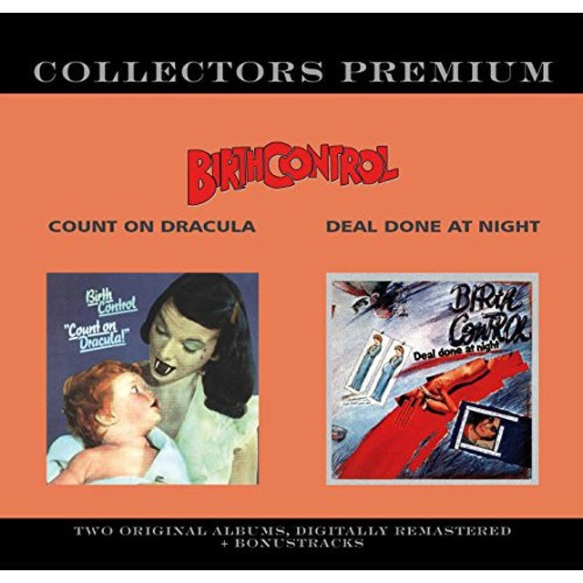Birth Control COUNT ON DRACULA/DEAL DONE AT NIGHT CD