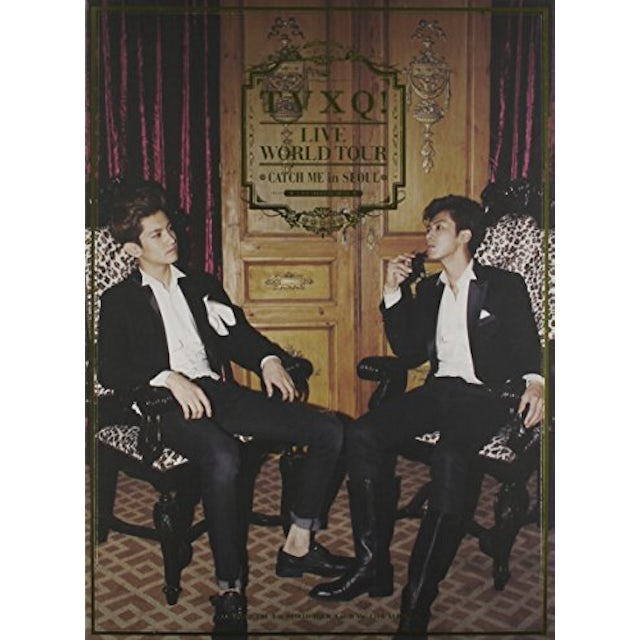 Tohoshinki TVXQ! THE 4TH WORLD TOUR CD