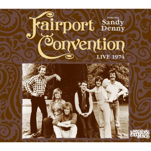 Fairport Convention LIVE AT MY FATHERS PLACE CD