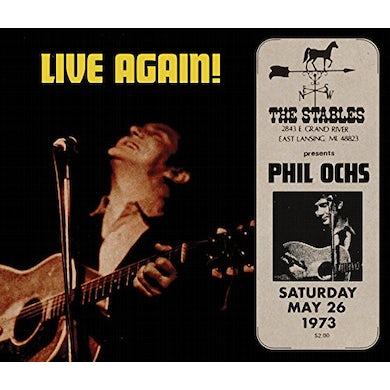 Phil Ochs LIVE AGAIN CD