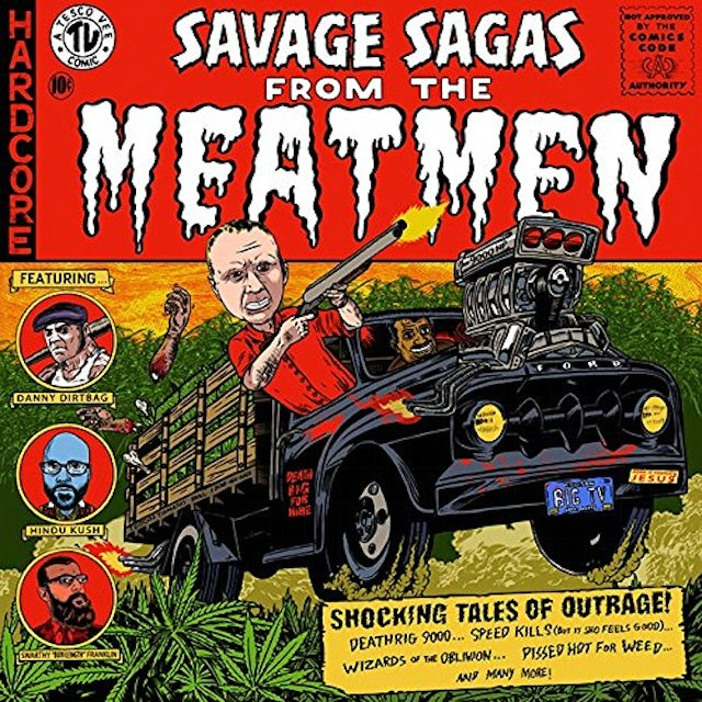 SAVAGE SAGAS FROM THE MEATMEN Vinyl Record