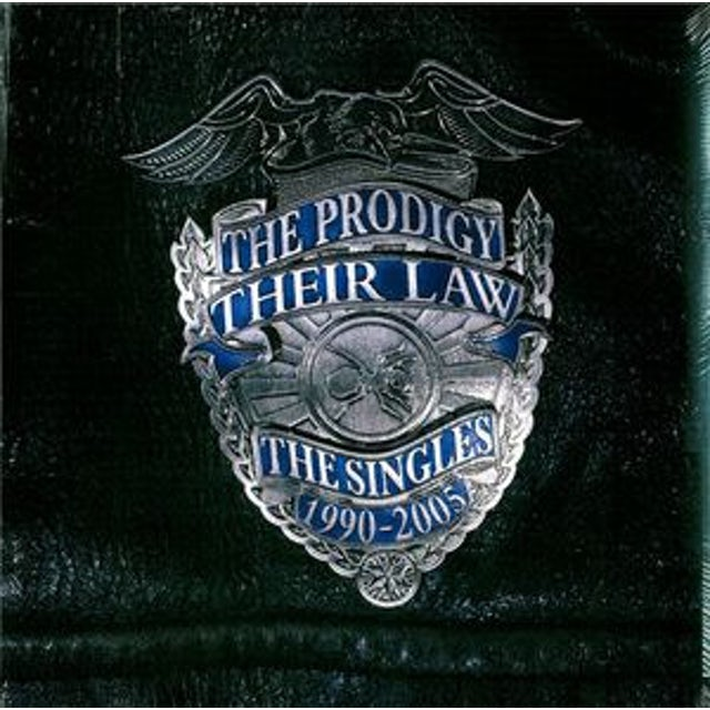 The Prodigy THEIR LAW: THE SINGLES 1990-2005 Vinyl Record
