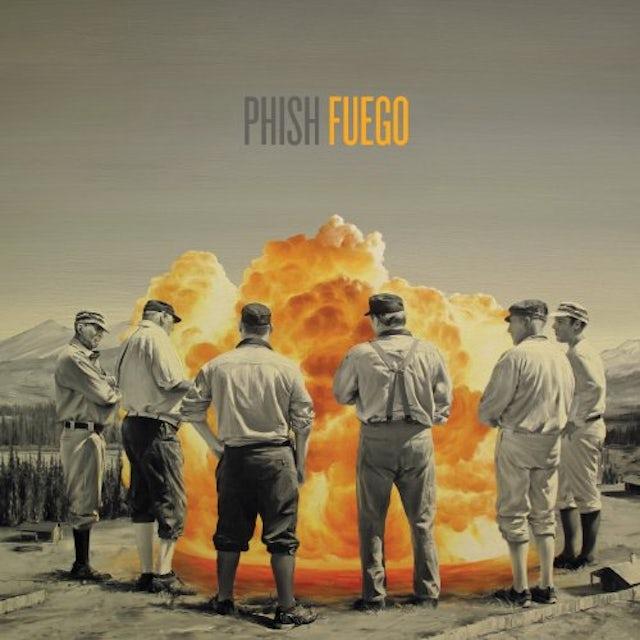 Phish FUEGO CD