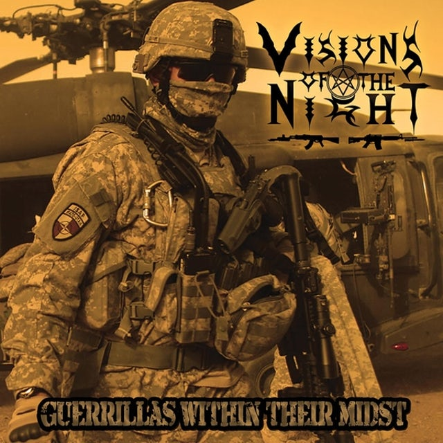 Visions Of The Night GUERRILLAS WITHIN THEIR MIDST CD