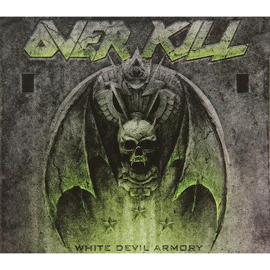 Overkill WHITE DEVIL ARMORY CD
