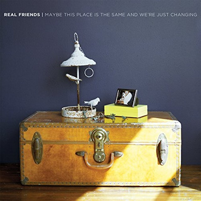 Real Friends MAYBE THIS PLACE IS THE SAME & WE'RE JUST CHANGING CD