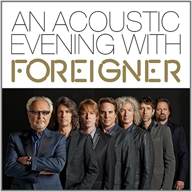 ACOUSTIC EVENING WITH FOREIGNER Vinyl Record