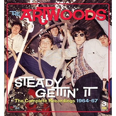Artwoods STEADY GETTIN' IT: COMPLETE 1964-67 CD