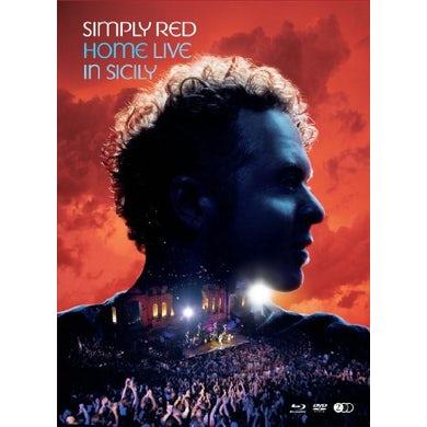 Simply Red HOME LIVE IN SICILY CD