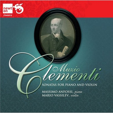 Clementi SONATAS FOR PIANO & VIOLIN CD