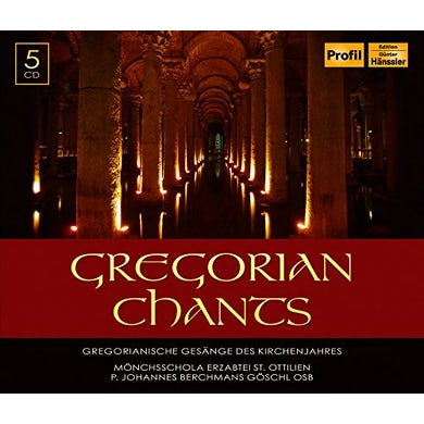 Anonymous GREGORIAN CHANTS CD