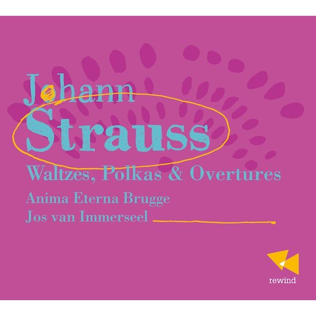 Strauss WALTZES POLKAS & OVTRS CD