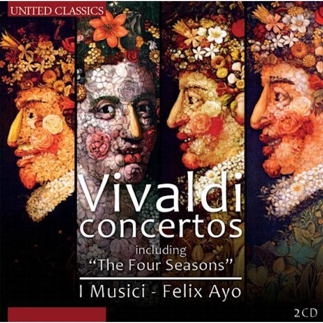 Vivaldi CONCERTOS FOUR SEASONS CD