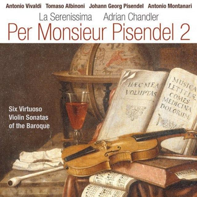 Vivaldi PER MONSIEUR PISENDEL 2 CD